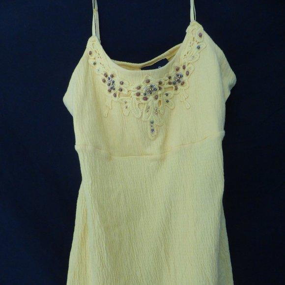 N.W.D. New Woman Design, spaghetti strap dress